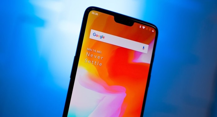promotion smartphone oneplus 6