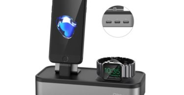 test station recharge 5 en 1 oittm apple watch iphone
