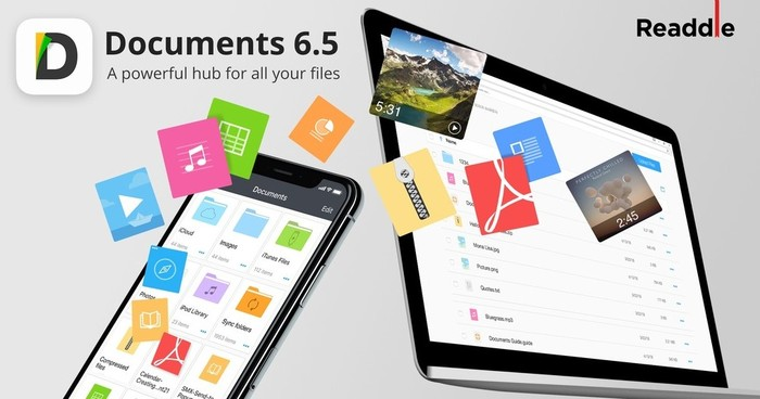 douments 6.5 readdle transfert de fichiers entre iphone ipadmac et pc