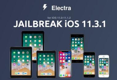 jailbreak ios 11.3.1 avec electra