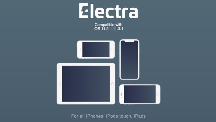 Electra1131 jailbreak electra iOS 11.3.1
