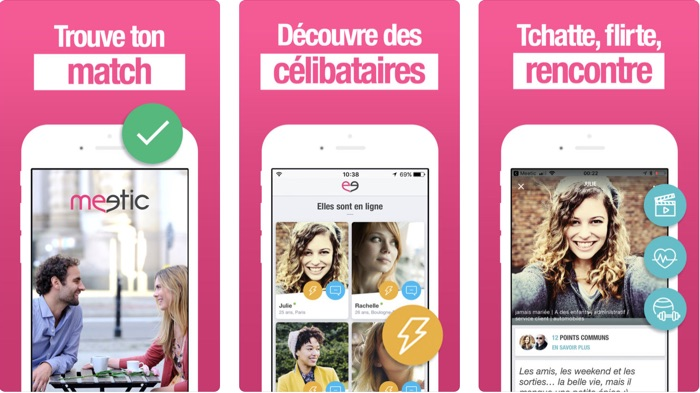 application meetic