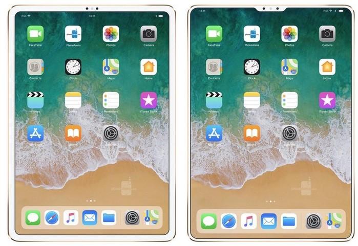 concept nouvel ipad 2018