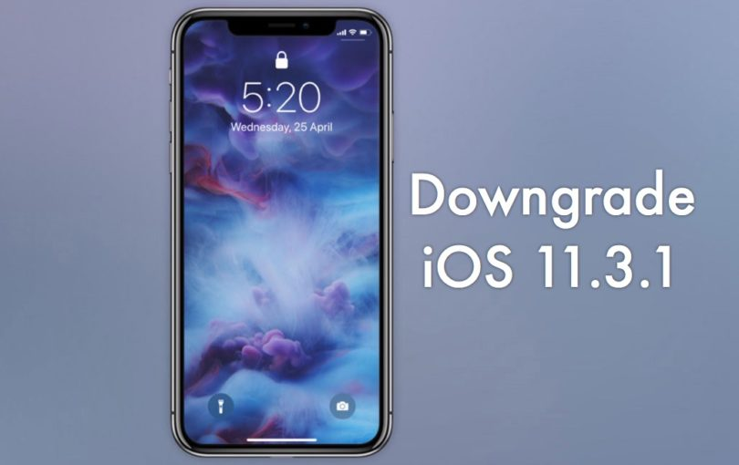 downgrade iphone pour ios 11.3.1