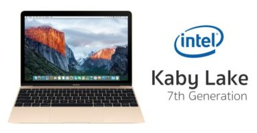 gamme macbook 2018 processeur intel kaby lake