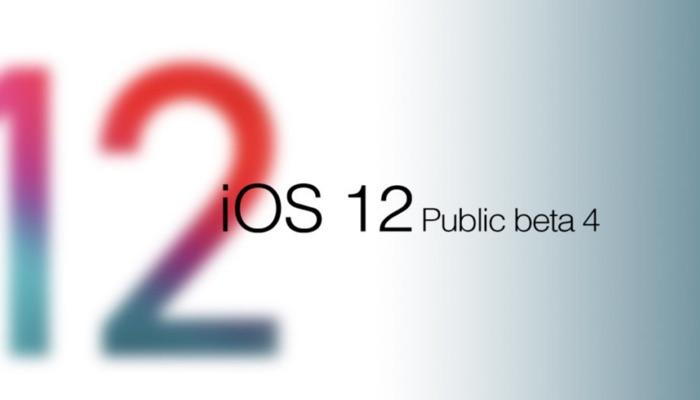 ios 12 beta 4 public