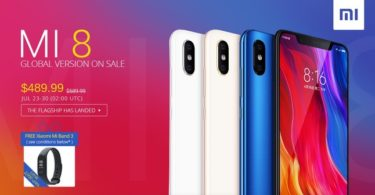 promotion xiaomi mi 8 et mi band 3