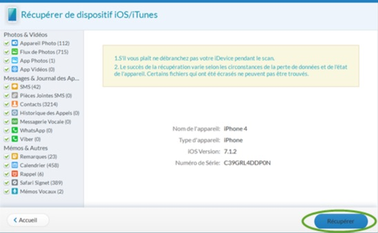 recuperer donnees itunes jihosoft iphone data recovery