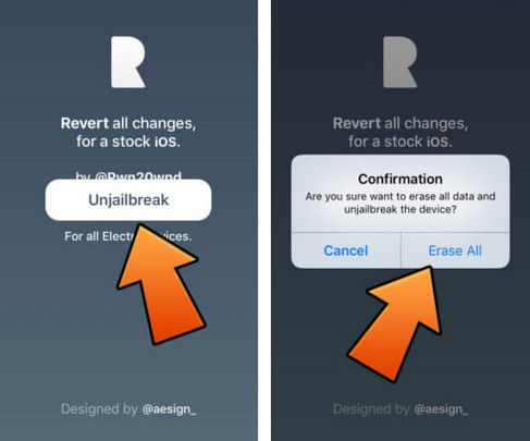 restaurer son iphone avec rollectra semirestore11