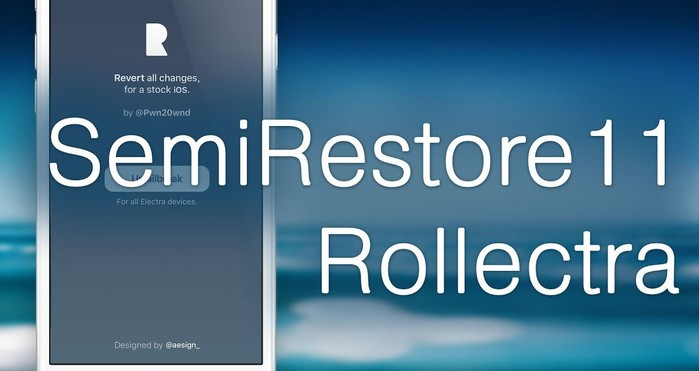 rollectra semirestore11 restaure votre iphone