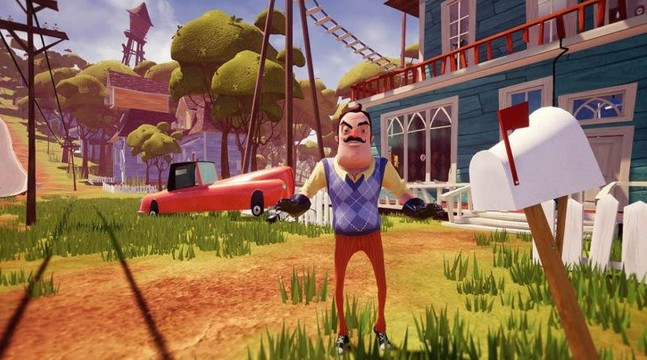telecharger hello neighbor pour ios et android