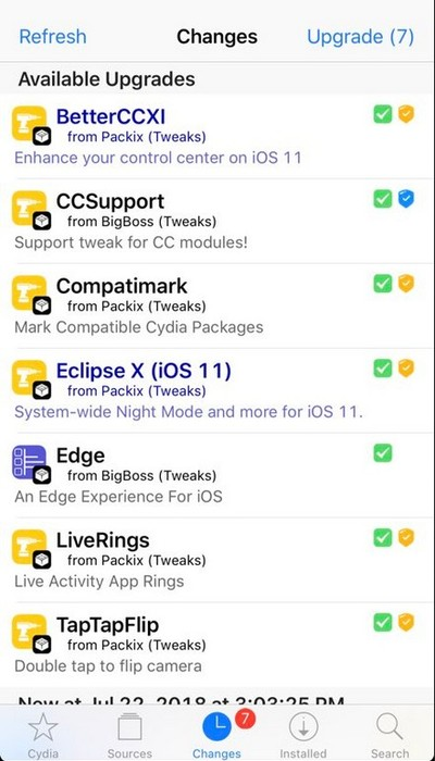 verifier tweak cydia compatible ios