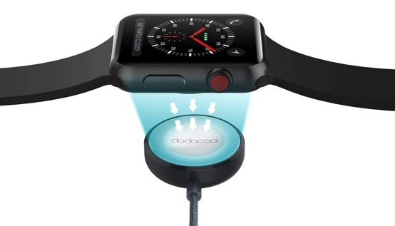 chargeur magnetique dodocool pour apple watch