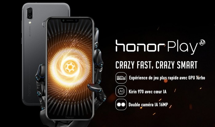 commercialisation huawei honor play