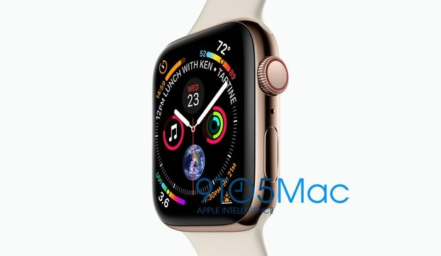 image promotionnelle apple watch serie 4 2018