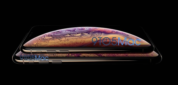 image promotionnelle iphone xs 2018