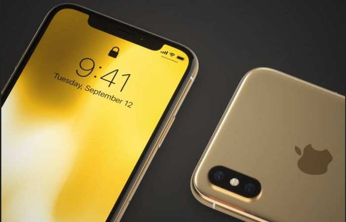 iphone x 2018 version gold