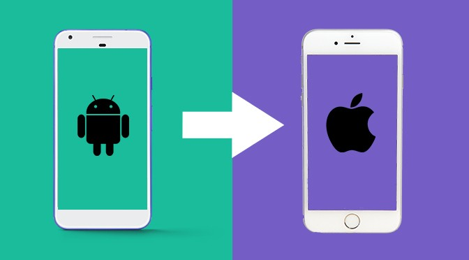 switch android vers iphone