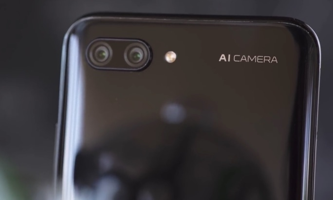 camera ai honor 10