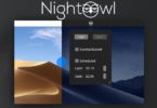 nightowl basculer entre mode clair et mode sombre sur mac
