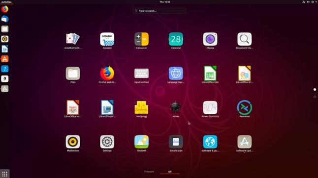 nouveaux icones ubuntu 18.10 cosmic cuttlefish