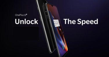 presentation smartphone oneplus 6t