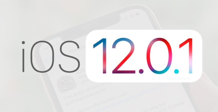 telecharger ios 12.0.1 pour iphone et ipad
