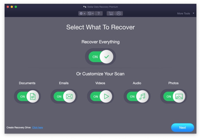 Stellar Data Recovery Premium Recuperation De Donnees Mac