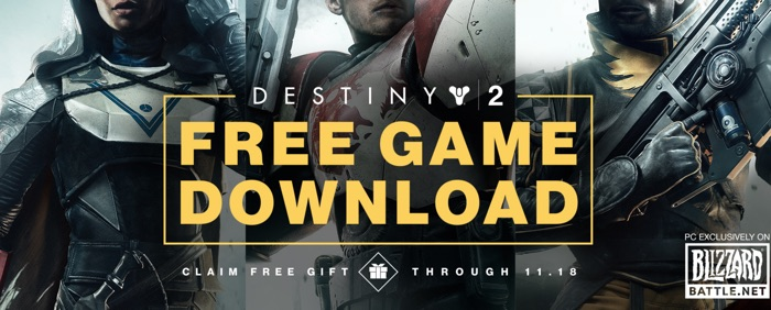 destiny 2 gratuit