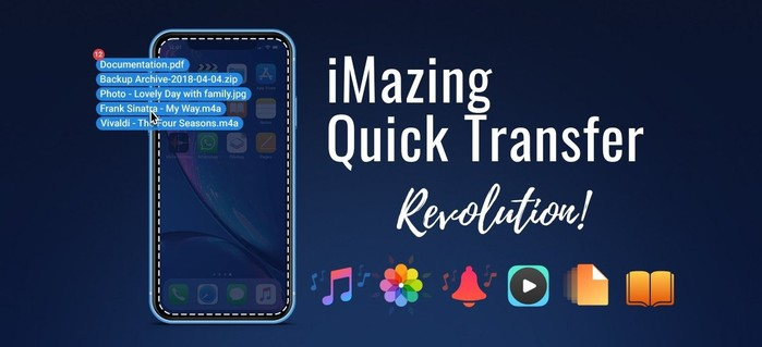 imazing quick transfer pour mac et windows
