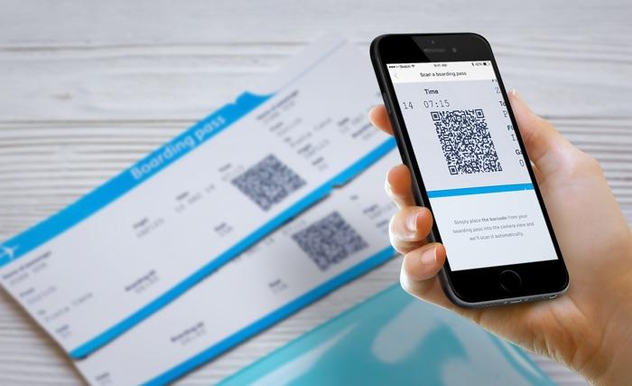 scanner carte embarquement avec airhelp