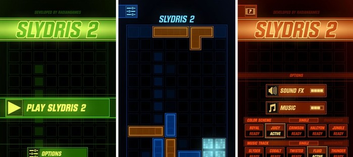 slydris 2 alternative tetris ios android
