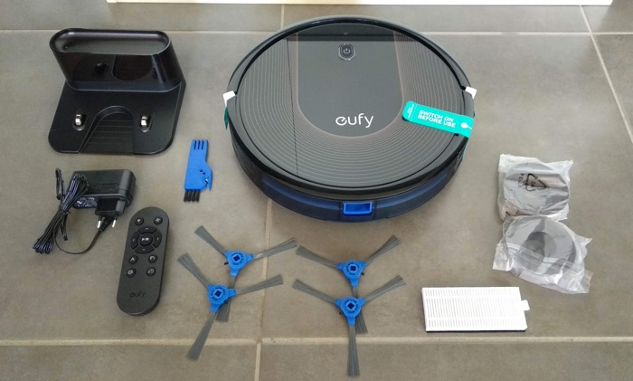 test robot aspirateur eufy robovac 30c