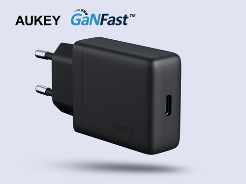 aukey usb-c chargeur mural 30w power delivery