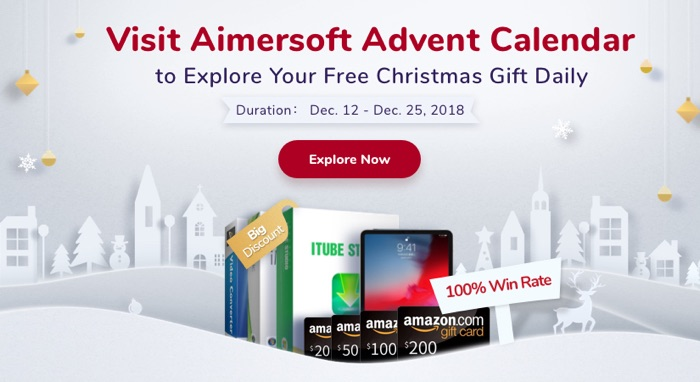 calendrier avent aimersoft