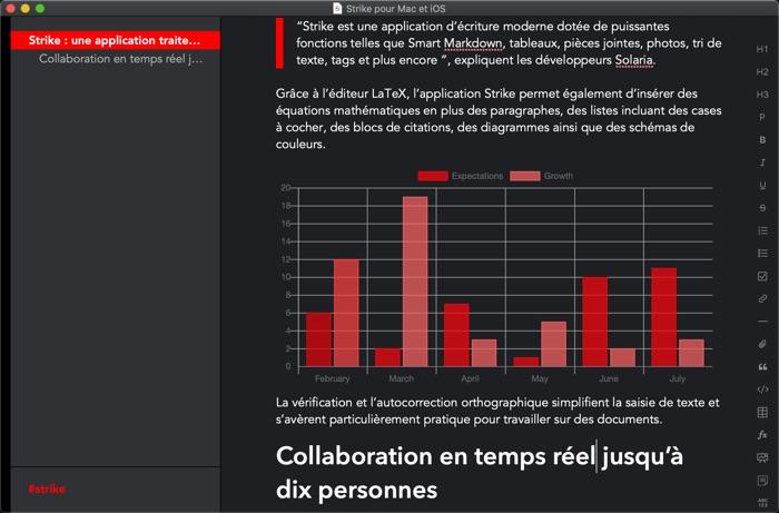 integration schema avec editeur strike