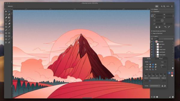 amadine application dessin vectoriel pour debutant et expert