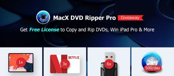 concours macx dvd ripper pro gagner ipad pro