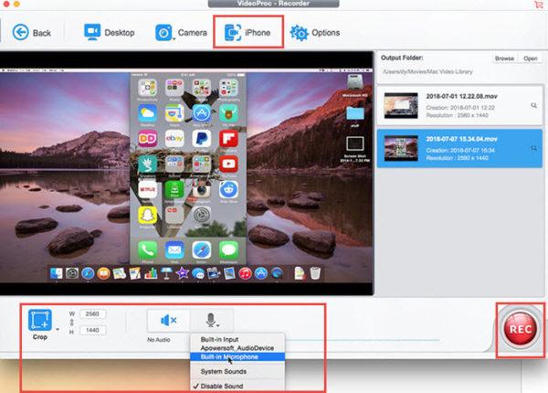 enregistrer-écran-iPhone