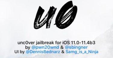 jailbreak ios 11 unc0ver v2.1.3