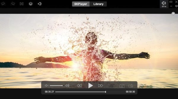 lecture video 4k avec 5kplayer
