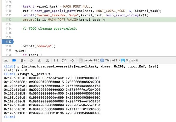tfp0 kernel jailbreak ios 11.4.1
