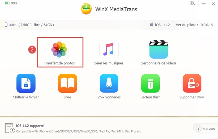 transferer photo iphone vers pc avec mediatrans