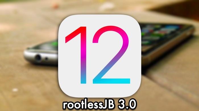 jailbreak ios 12 rootlessjb 3