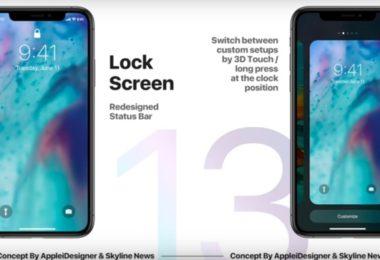lockscreen customisation ios 13
