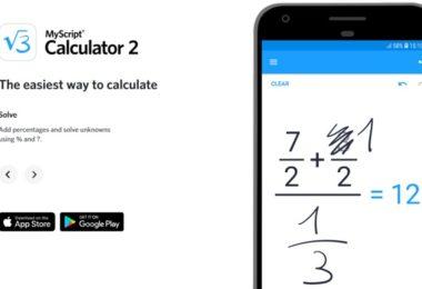 myscript calculator 2 gratuit