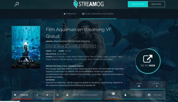 streamog site streaming francais