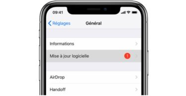 supprimer mise a jour ios iphone