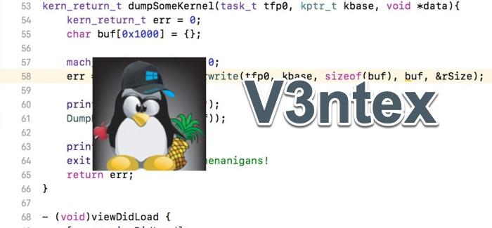 v3ntex exploit jailbreak ios 12