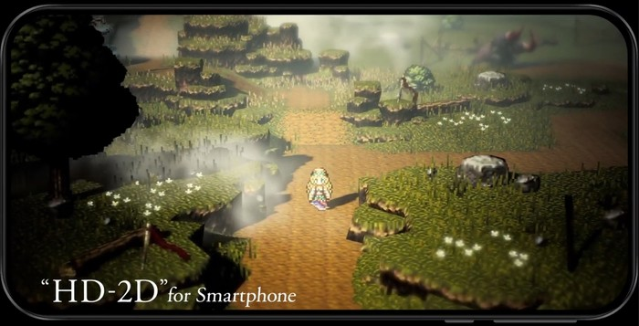 Octopath Traveler hd-2d smartphone ios android